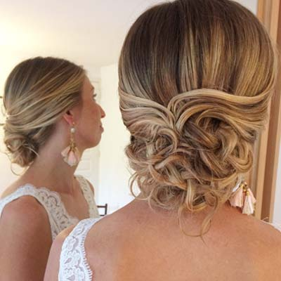 boucles coiffure mariage royan